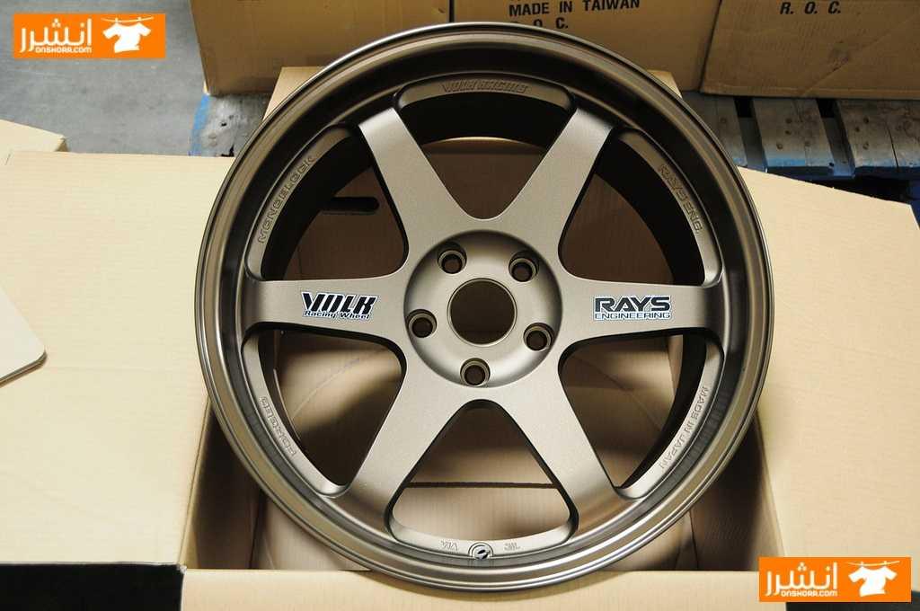 جنط RAYS VOLK Racing TE37 19 ياباني <br> <br>جنط ڤولك ياباني مقاس...