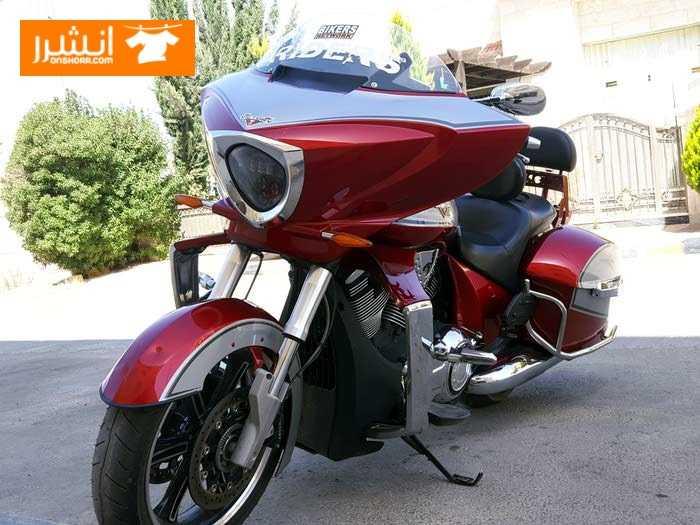 دراجة نارية وكالة victory cross 2012 <br> <br>كوشوك جديد مسجل روعه...