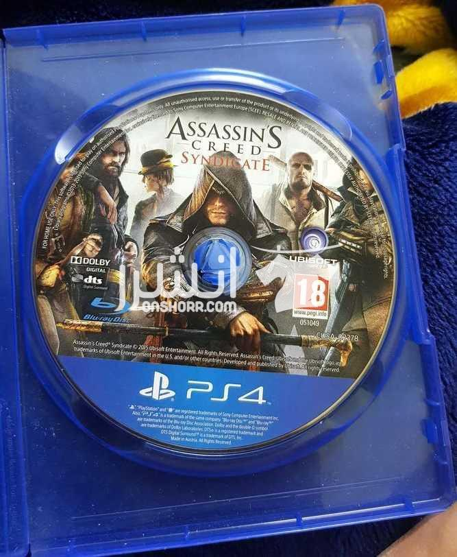 - assassins creed syndicate (PS4)  <br> <br>assassins creed...