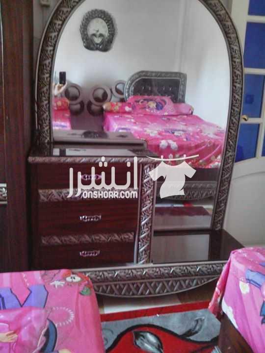 - غرفة نوم شبابي مكونة من ٢سرير ١٢٠سم ودولاب ٢متر وسراحة وكمودينو...