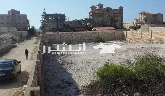- ارض للبيع في سيدي كرير <br> <br> الكيلو 34 بجوار قرية القوات...