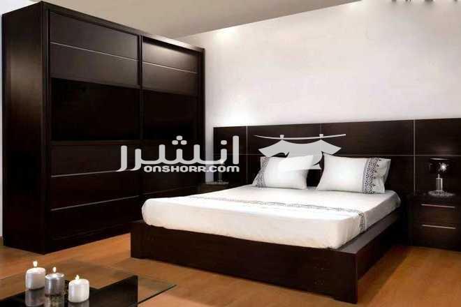 - غرفه نوم مودرن بتصميمات اوروبيه  <br> <br> <br>مكونه من :--...