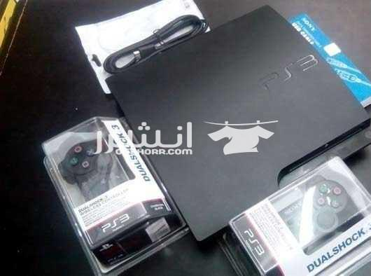 ps3 slim 320GB WIth 33 Digital Games all in 2018  <br> <br>جهاز ps3...