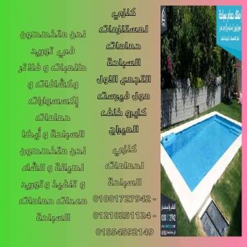 -                          صيانة حمامات السباحة...