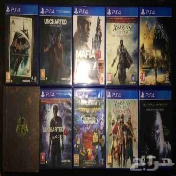 -                          ألعاب PS4 للبيع أو البدل...
