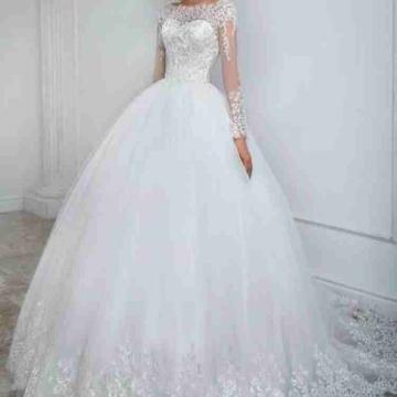 -                          فستان زواج للبيع...