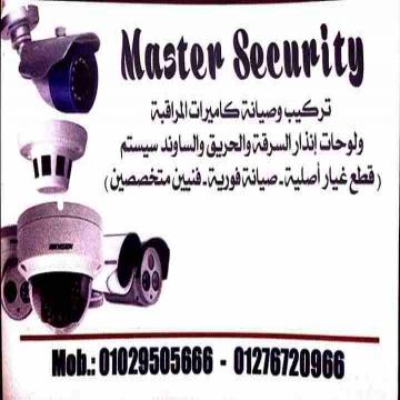-                          انظمه امنيه تزكيب وصيانه كاميرات...