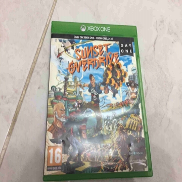 -                          sunset overdrive for Xbox one...