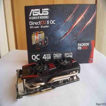 -                          Asus R9 290 direct CU II Oc edition 4gb...