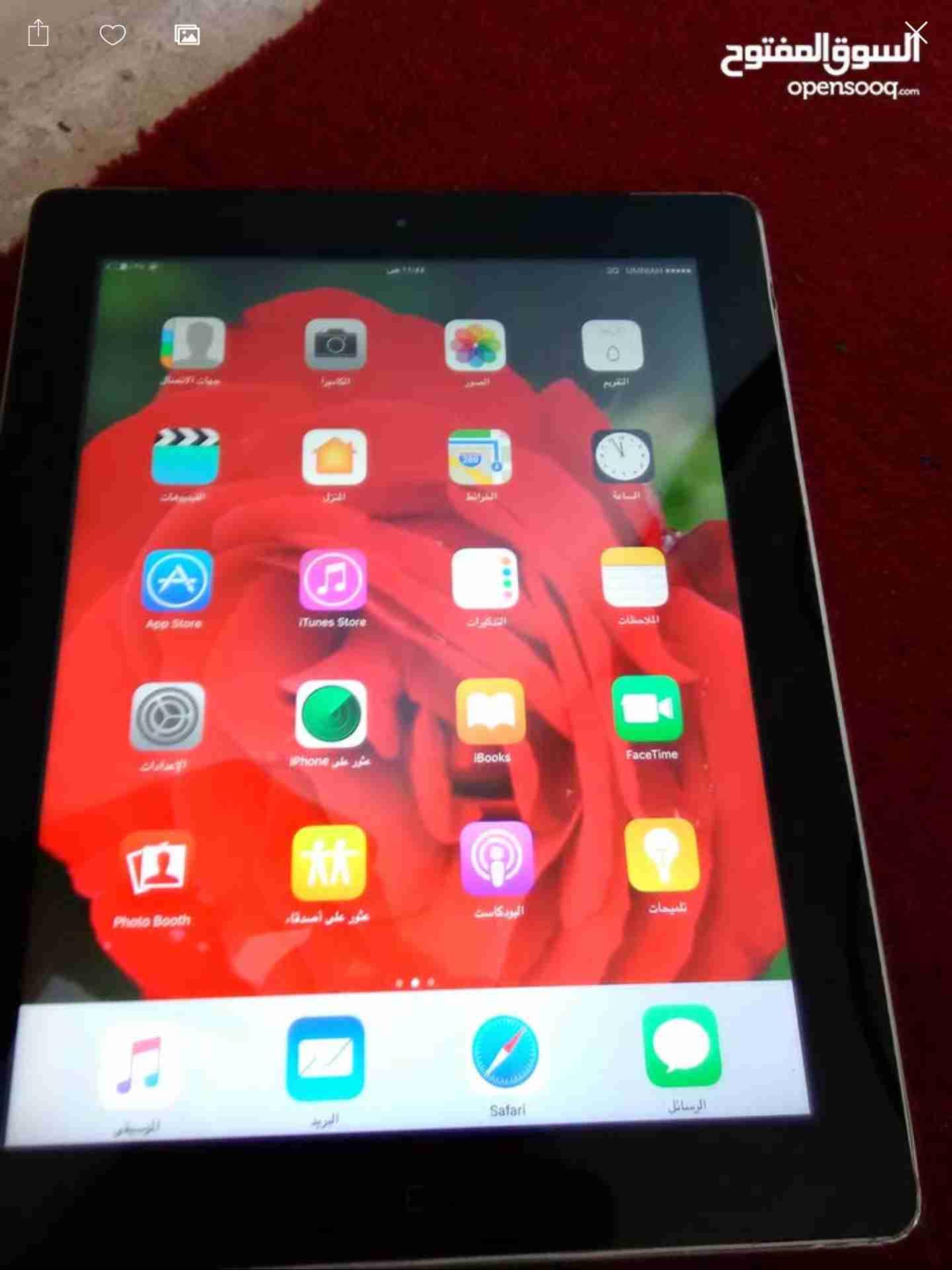 apple Original Ipad 4 cellular-  ايباد 4 بيع او بدل لا...