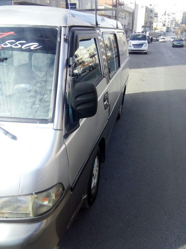 سياره بيجوه بحاله جيده-  h100 موديل 2000 ترخيص سنه...