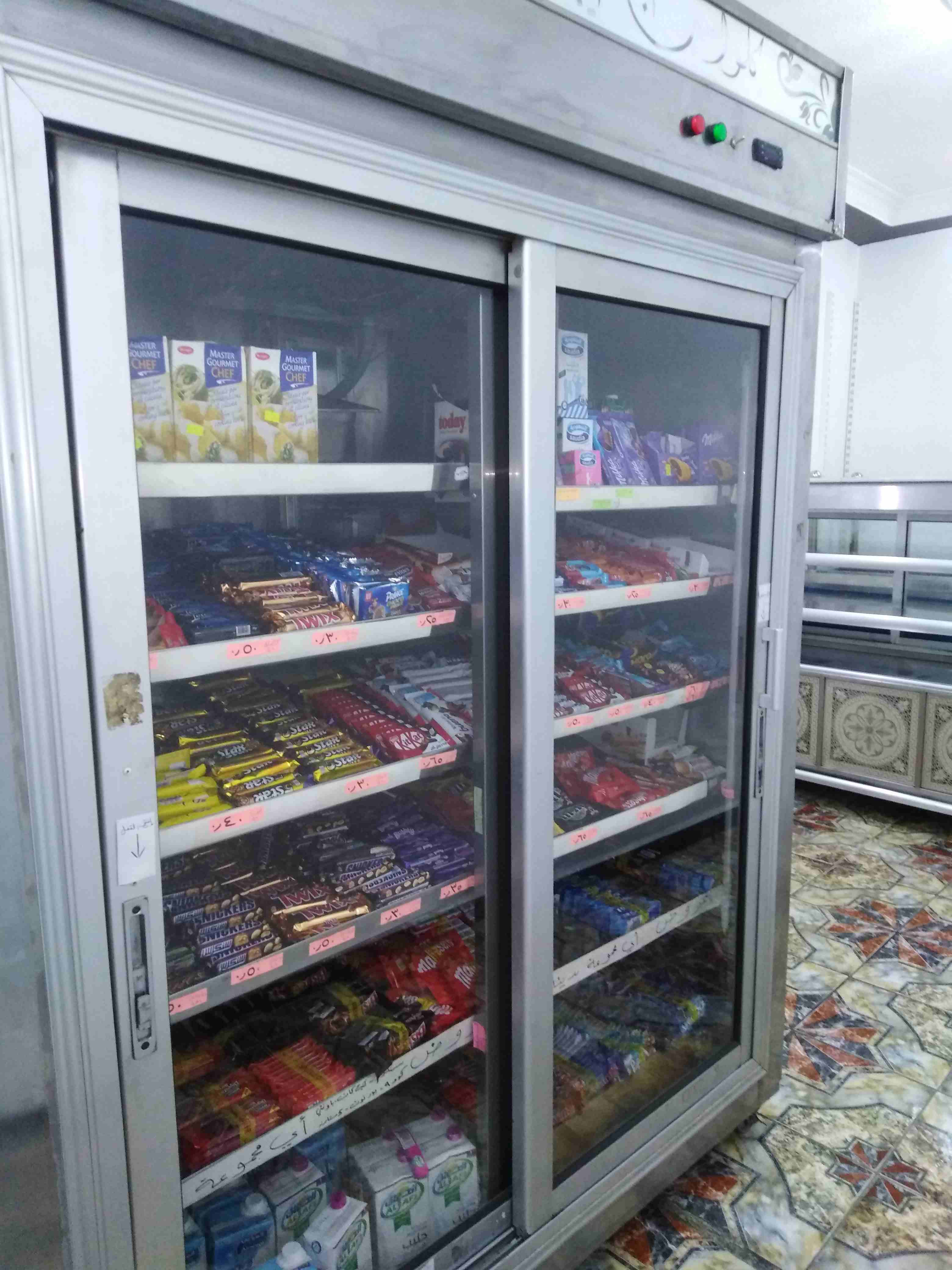 Hitachi latest model fridge with 2 doors up and down-  ثلاجة عرض ستانلس بابين...