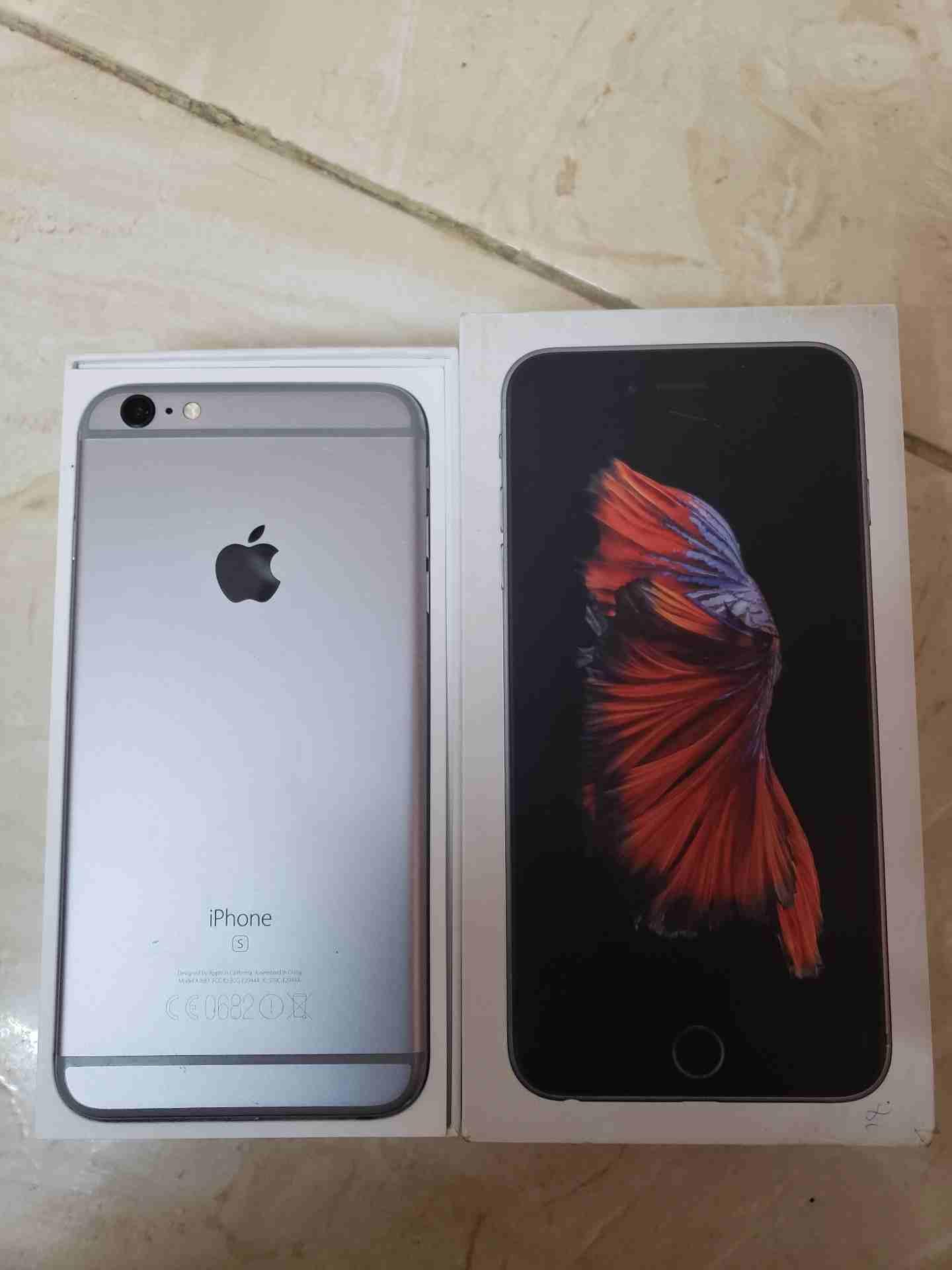 i wan.t to sale-  ايفون 6s بلس 16 جيجا مع...