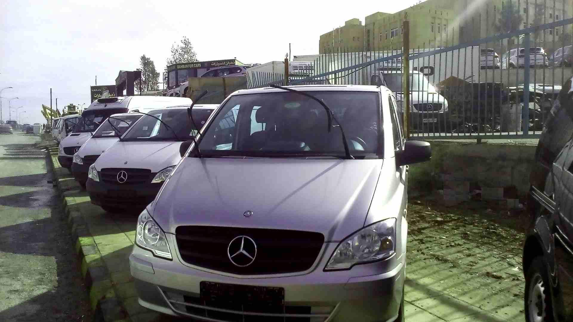 مازدا 6 2011 مستعملة-  مرسيدس 2013 VITO فيتو نقل...