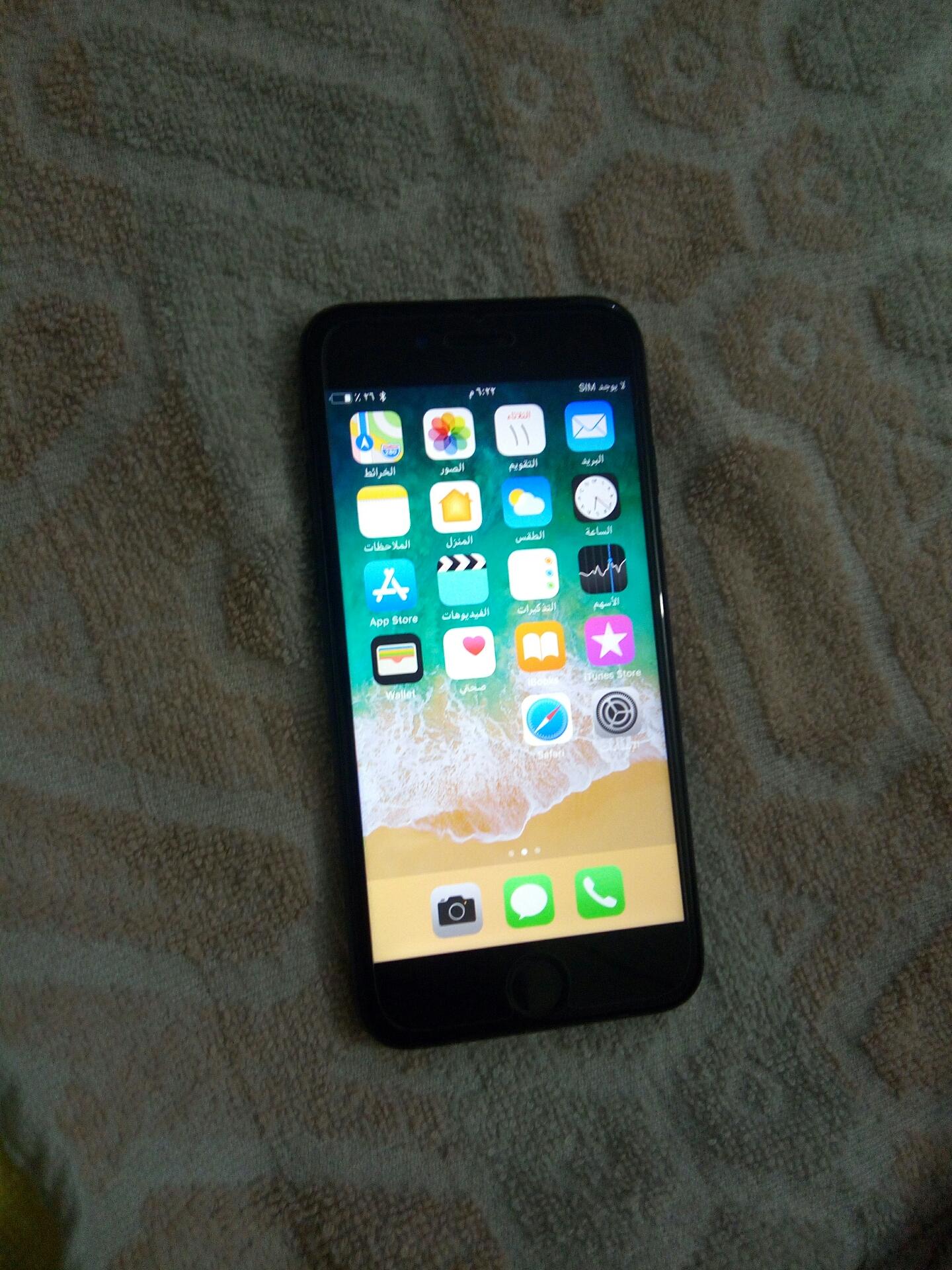 iPhone XR-  ايفون 7عادي 128قيقا معاه...