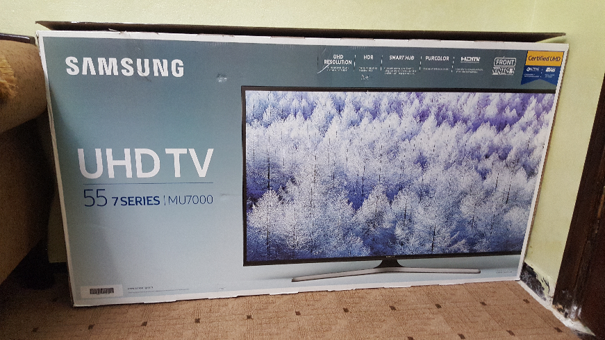 تلفزيون سامسونج 40 بوصه / Samsung 40 inch TV-  شاشة 55 سامسونج سمارت 4k...
