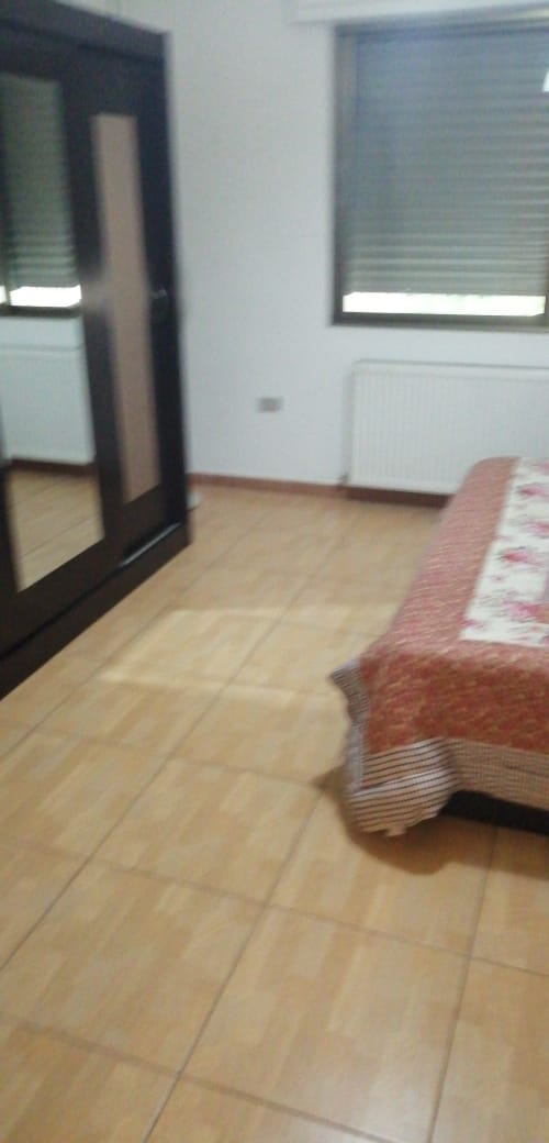 Furnished apartment for monthly or yearly rent-  شقه ارضيه مع حديقه كراج...
