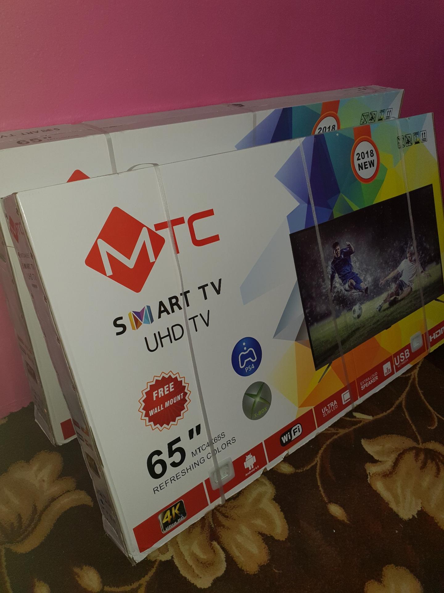 Samsung tv for sale perfect condition-  شة 65MTC بوصة سمارت UHD...