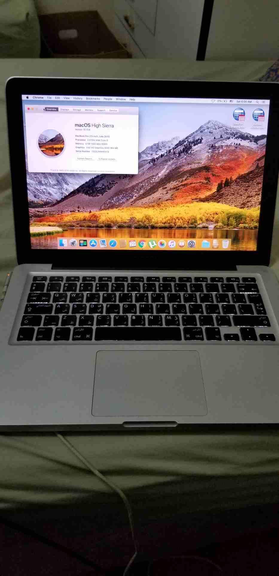 فني اليكترونيات خبره 17 عام في مجال الهواتف الخلوية والكمبيوتر واللابتوب صيانة وتجميع و�-  MacBook Pro (13 inch,...