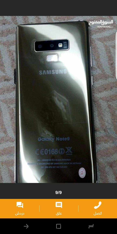 Apple Iphone 8 256GB GOLD COLOUR-  نوت 9وارد دبي فيتنامي...