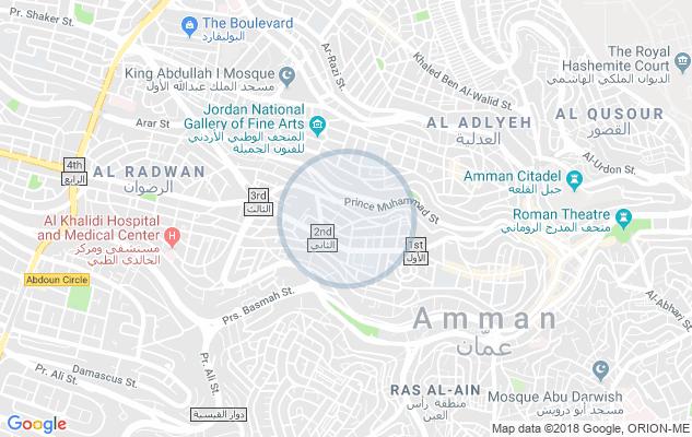 |*FINEST DESIGN*|||*-  شقة منطقة جبل عمان الدوار...