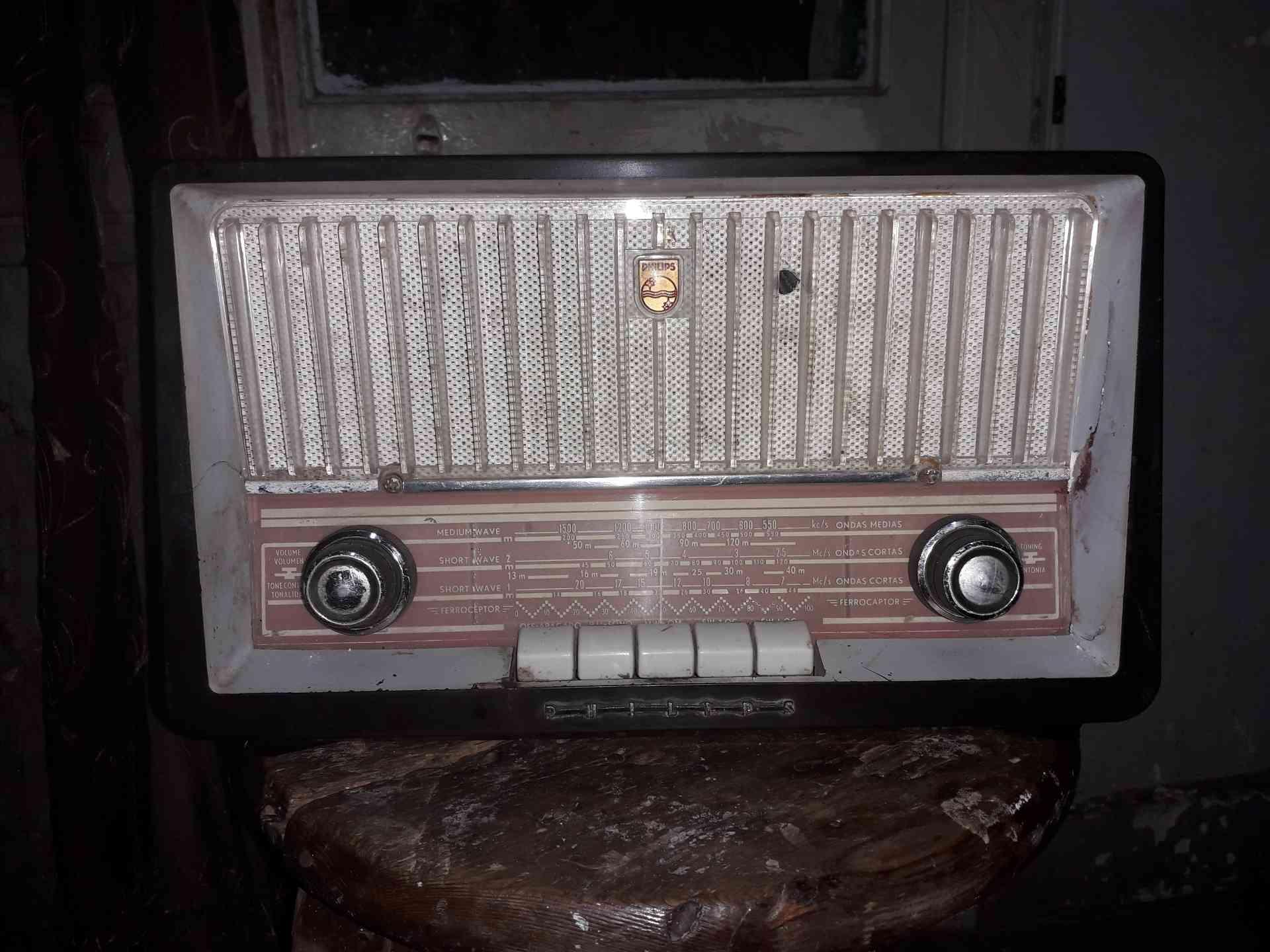 راديو فيلبس هولندى انتيك...