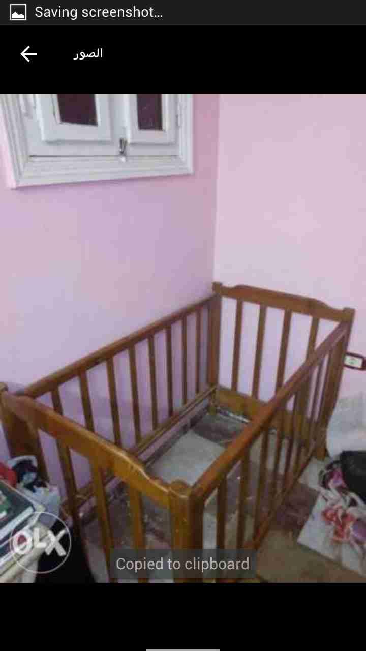 سرير اطفال...