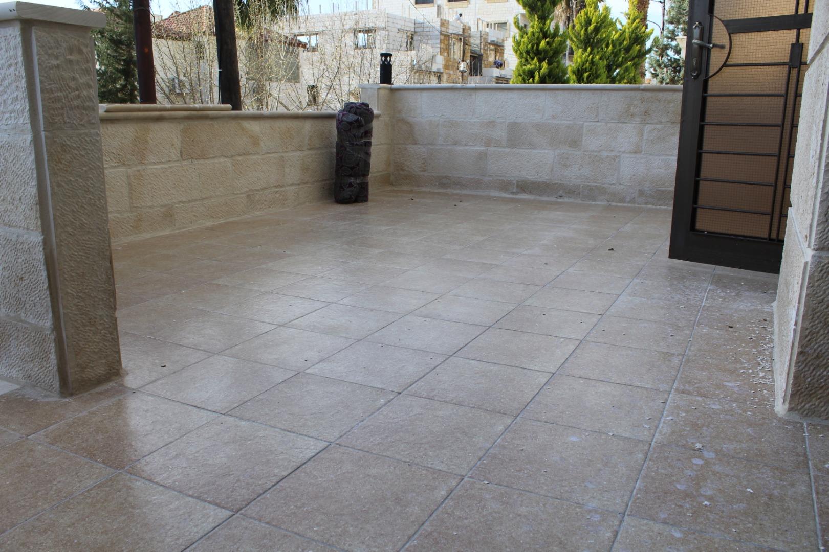 For monthly rent a studio with balcony, including bills, new furniture-  للايجار شقة فارغة سوبر...