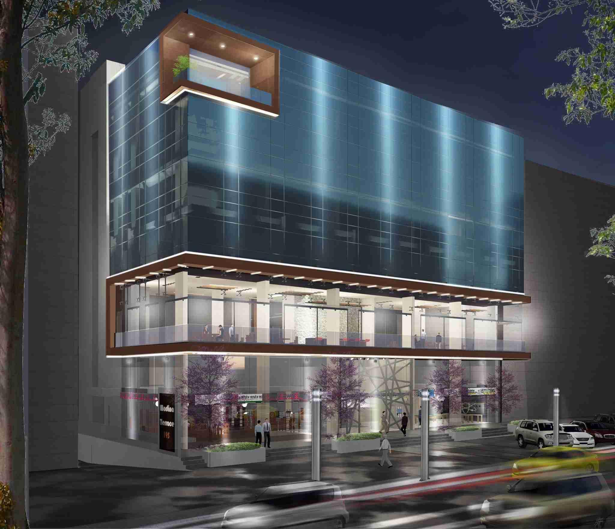 2200 sq feet in New Sajja (Emirates Industrial City)-  مكتب جديد للايجار لا تنسَ...
