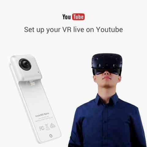 Insta360 Nano Camera 360 degree...