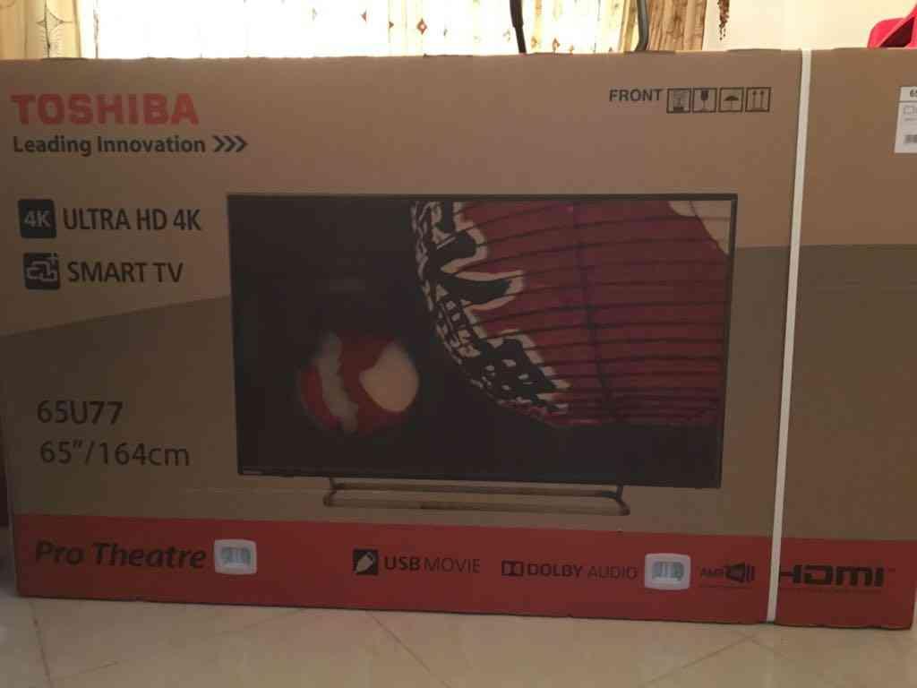 تلفزيون سامسونج 40 بوصه / Samsung 40 inch TV-  توشيبا 65 انش SMARTV 4K...