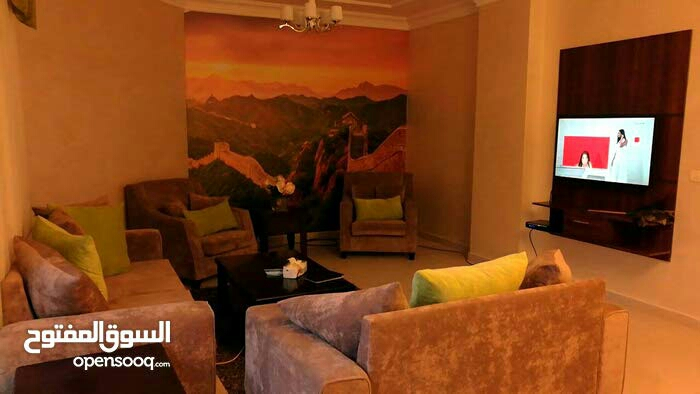 Furnished apartment for monthly or yearly rent-  شقة ارضية مفروشة للايجار...