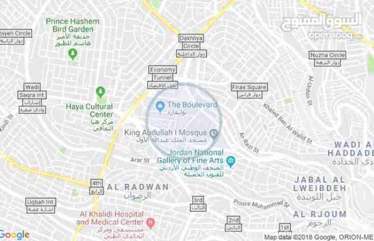 ONLY 4200 PER MONTH INCLUDED ALL BIL PARKING FREE WIFI FREE GYM POOL FREE-  شقة للايجار : تلاع العلي...
