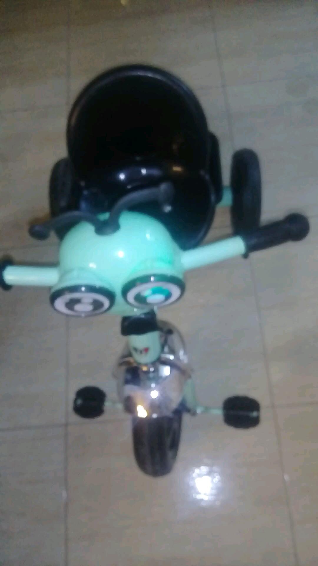 Toys for kids-  بسكليت بدلات حديد مضيئ مع...