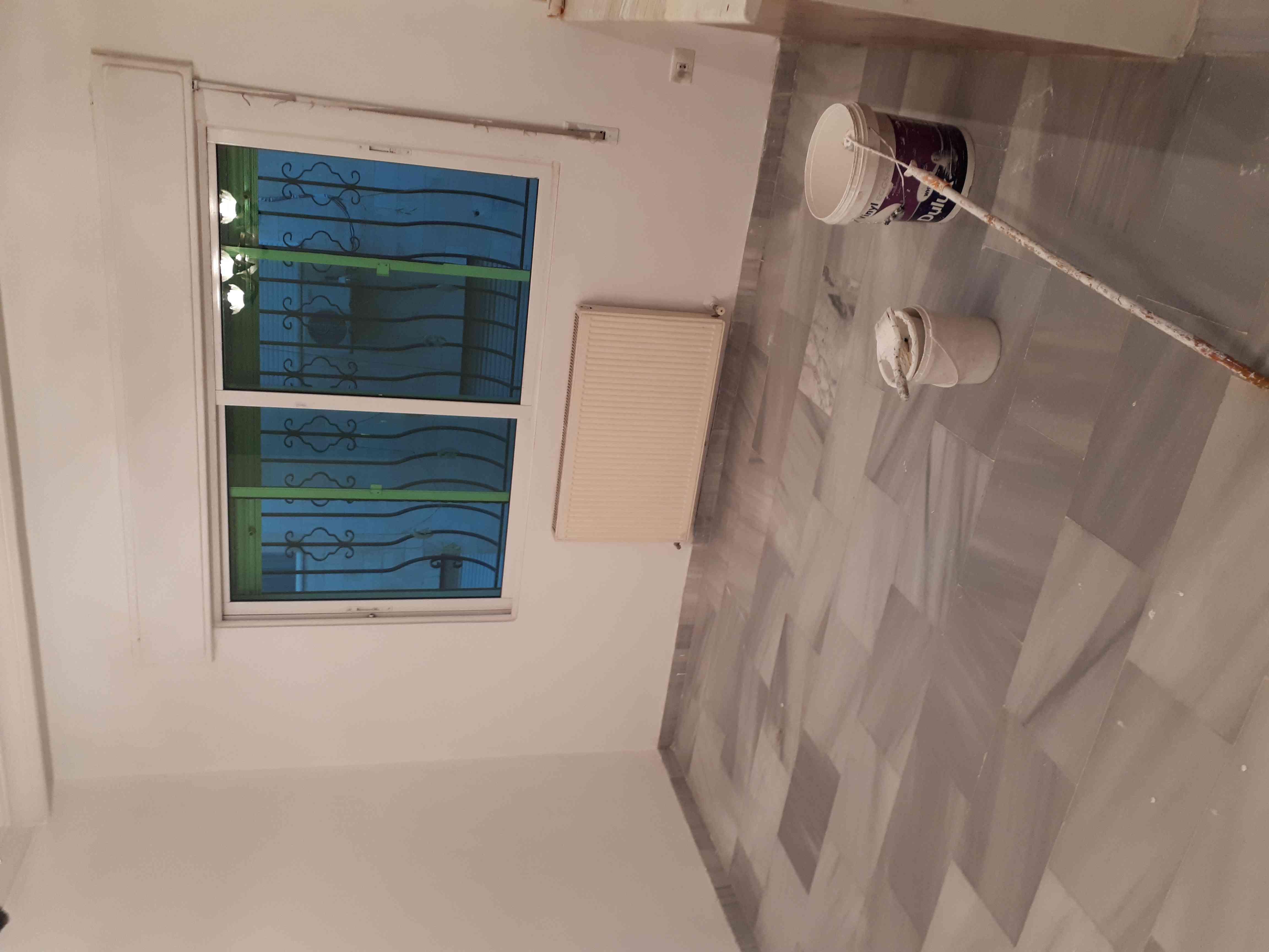 Brand new 1 BHK With 2/bathroom in bain aljesraen (Rabdan area)-  شقه فارغه في الرابيه قرب...