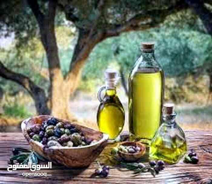 olive oil from Syria super extra number 1-  السعر للتجار الجمله 70د....
