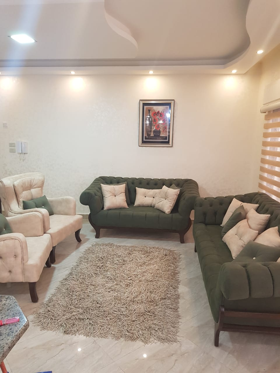 Apartments for rent in Ajman furnished, furnished, and very elegant at a very attractive price-  شقه ارضيه في شارع مكة لا...