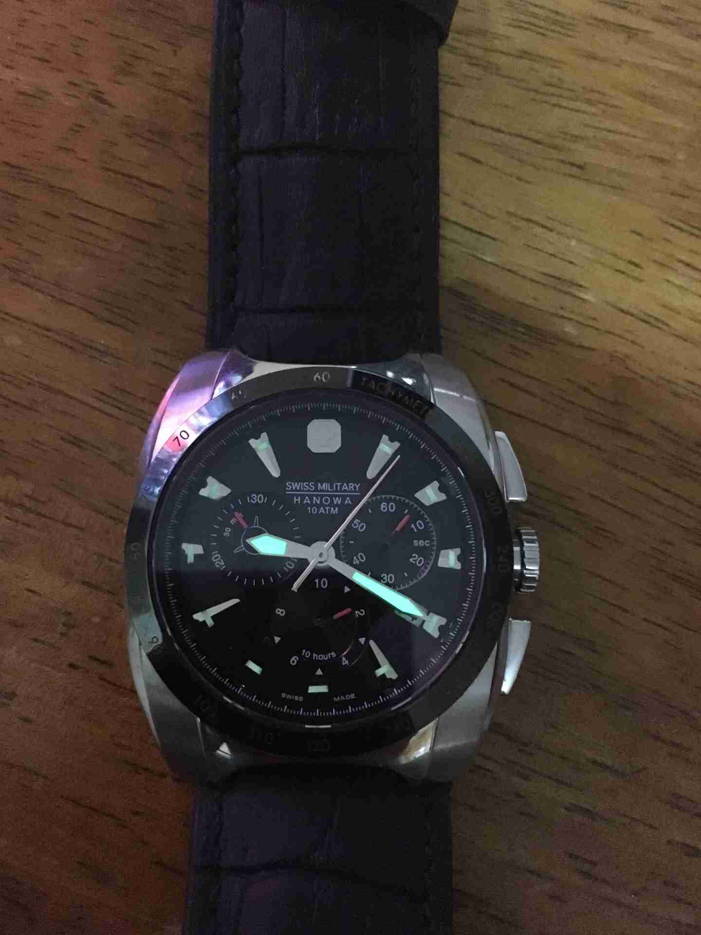 Mens Tevise Watch-  Authentic Swiss Military...