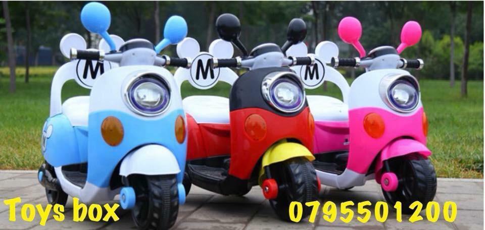 Trampoline Available-  دراجه شحن للاطفال لا تنسَ...