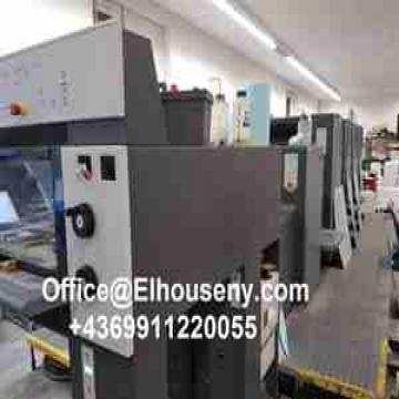 -    ماكينة طباعة هايدلبرج سبيد ماستر 4 لون HEIDELBERG SM 74-4-P3...
