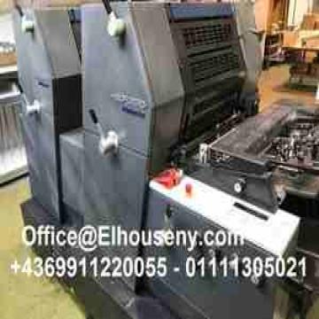 - ماكينة طباعة هايدلبرج جى تى او 2 لون HEIDELBERG GTO -PM-52-2...