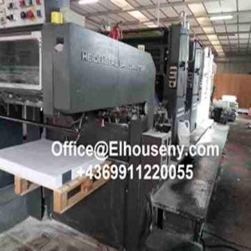 - ماكينة طباعة هايدلبرج سبيد ماستر 4 لون   هايدلبرغ SM 102 VP 4...