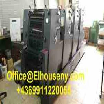- ماكينة طباعة هايدلبرج برنت ماستر 4 لون   HEIDELBERG PM 52-4...