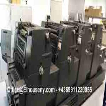 - ماكينة طباعة هايدلبرج جى تى او 4 لون   HEIDELBERG GTO 52-4...
