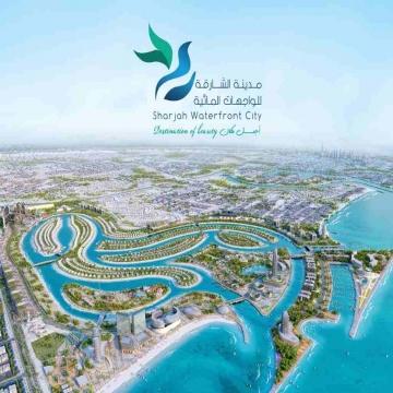 اعلانات - Kareem Issa- - Beach Front Villas ... Surrounded with Gulf Sea Water  Sun...