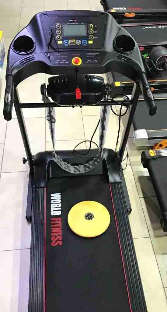 نعمل على الوساطة التجارية و بيع البضائع-  جهاز ركض world fitness...