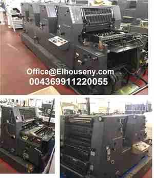 3 ماكينات طباعة هايدلبرج جى تى او 1 لون و 2 لون و 4 لون  -...