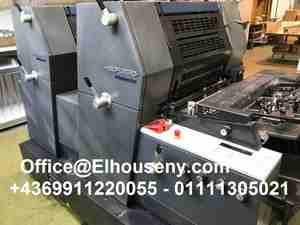 ماكينة طباعة هايدلبرج جى تى او 2 لون HEIDELBERG GTO -PM-52-2...