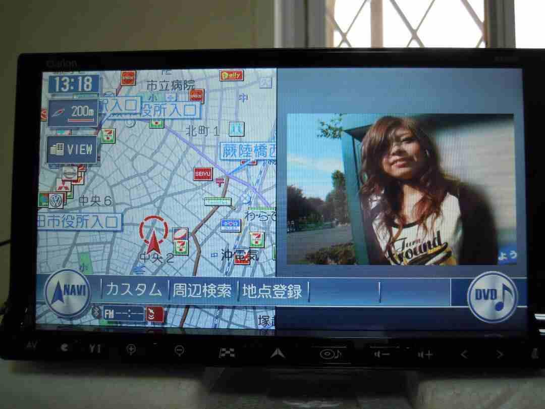مسجل شاشة DVD ياباني أصلي Clarion مع USB /...