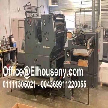 - ماكينة طباعة هايدلبرج 2 لون مقاس فرخ HEIDELBERG SORSZ...